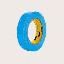 Cinta de tubelizar de 18mm, 55 metros, azul
