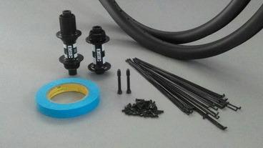 Material para montarte tus ruedas de carbono