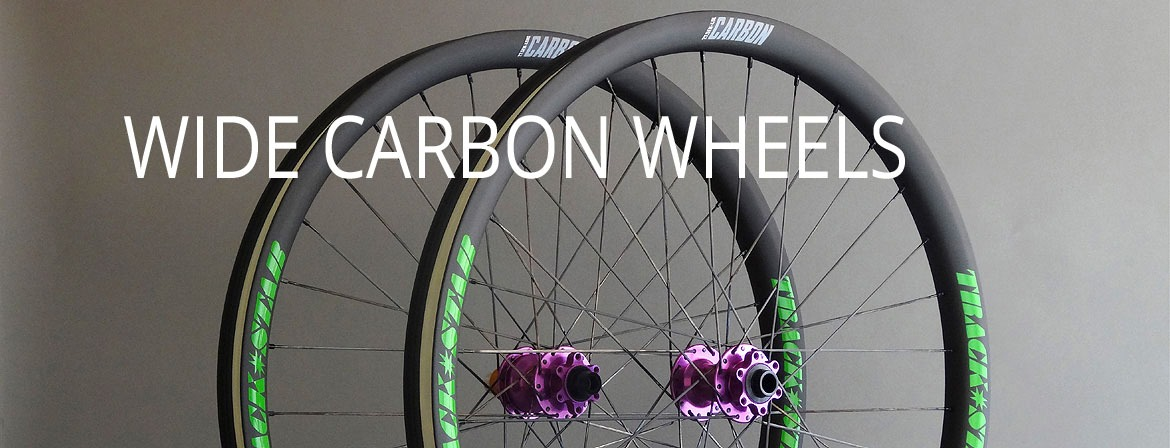 TrackStar Wide Carbon Wheels