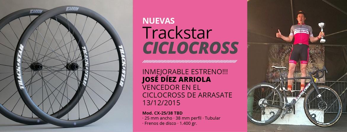 Estreno ruedas de Ciclocross