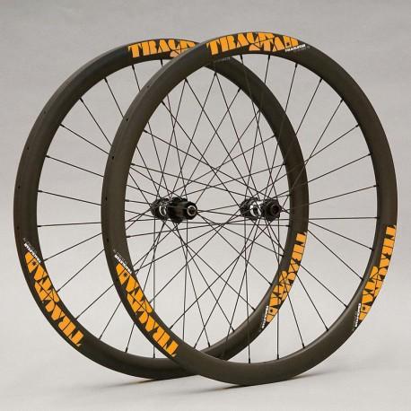Para tubulares, Carbono PREMIUM perfil 30 a 55mm, DT Swiss, CX-Ray - 1.320g. Ruedas de ciclocross para frenos de disco