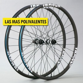 "27.5"" Carbono PREMIUM 32.6mm, DT Swiss y CX-Ray. Ruedas muy ligeras"