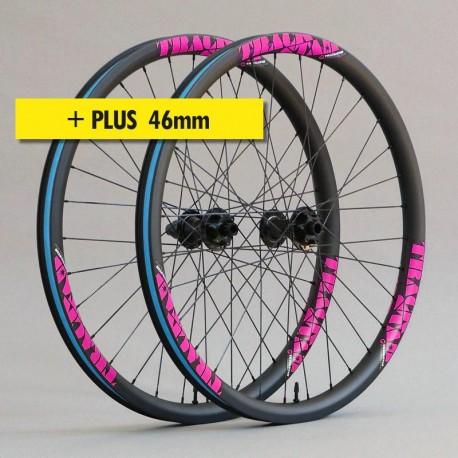 """27.5""""+ Carbono PREMIUM 46mm, bujes HOPE Pro 4. Ruedas ligeras"""