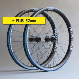 """27.5""""+ Carbono PRO 52mm, bujes HOPE, juego de ruedas ligeras"""