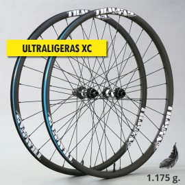 "29"" Carbono PREMIUM UL 27mm, DT Swiss y CX-Ray. Ruedas XC ultraligeras"
