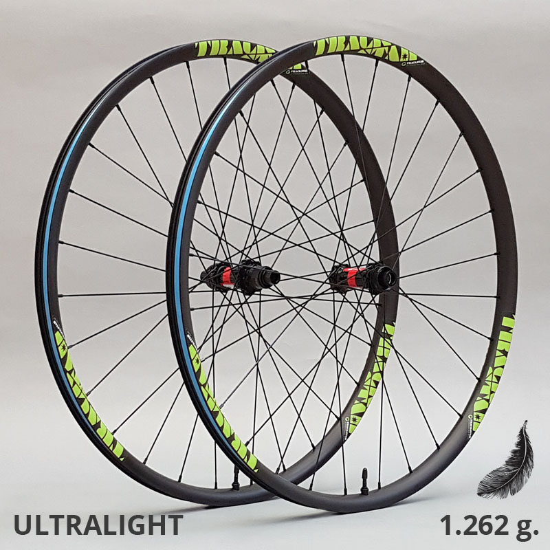 Ruedas ULTRALIGHT 30mm